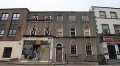 The property at Fenian Street, Dublin