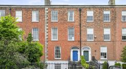 Auction: The property on Upper Leeson Street in Dublin had been rented as flats