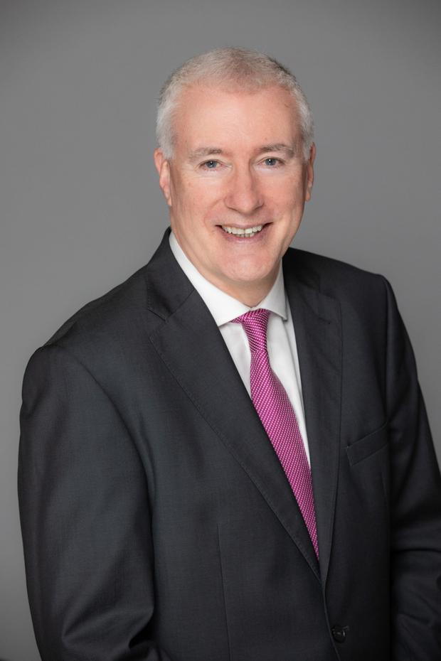 Pat Farrell, CEO of Irish Institutional Property (IIP)