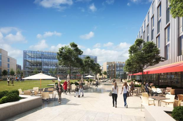 Plans for Crown Square in Mervue