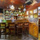 The pub interior at the Arch Bar, Dunshaughlin, Co Meath