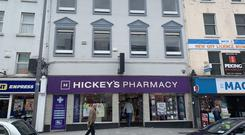 Hickey's Pharmacy in Drogheda has a 15-year lease