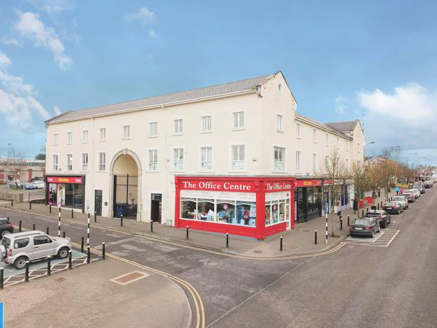 Price drop: A number of commercial units in Newbridge, Co Kildare, are being sold