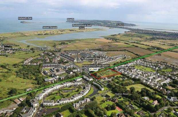 Potential: The site on Station Road, Portmarnock, is zoned residential