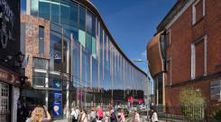 Going up: O'Callaghan Properties is selling its Half Moon Street mixed use development for €34m
