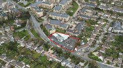 The 0.84-acre former motor showroom residential site on Goatstown Road in Dublin 14 which has been sold through agent Knight Frank for more than €6.6m