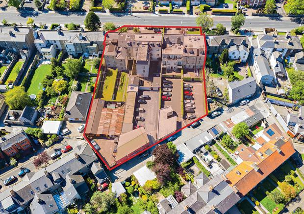 The Rathgar Road Collection comprises six properties with 61 purpose-built apartments and three office mews units as well as an infill site with development potential