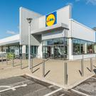 The Lidl store that is anchor tenant at the West City Retail Park