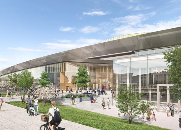 What's in store: Artist's impressions of the planned Quad 3 development at The Park retail business complex in Carrickmines