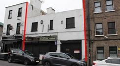 Infill site: 5 Echlin Street is located near to the Guinness Storehouse