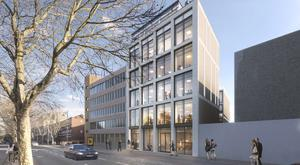 Prime location: The Wythe Building is in one of the most popular districts in Dublin