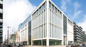 Buoyant market: 5 Hanover Quay office block was the largest deal in the third quarter