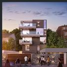 An artist's impression of apartments at Lough Atalia Road, Galway