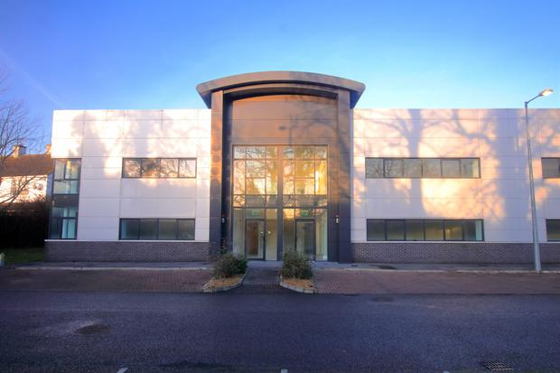 Imposing: Grattan Business Park has a choice of units