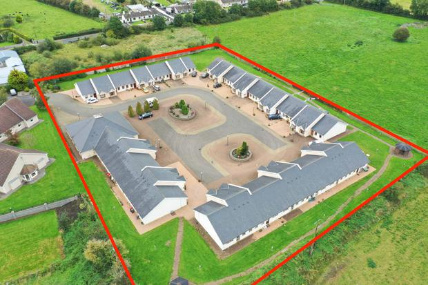 Valuable lot: Clover Court Retirement Village in Co Offaly