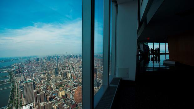 The view from the new World Trade Centre. Fox and News Corp have become the latest firms to sign up for space there.