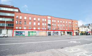 Upward rent reviews: The Amiens St investment comprises six retail units and sold for €1.05m. When let to five tenants, they generate €99,600 in annual rent. Photo: Shane Maguire Photography
