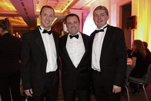 Peter Flanagan (BNP Paribas), Paul Muldoon (Independent Advertising Manager) and Seamus Carthy (Real Estate Alliance)