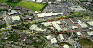 WAREHOUSES: This 103,000sq ft site on the Naas Road in Co Kildare was among a host of industrial properties to changes hands in 2013. It was bought for €3.5m by Brooks Timber and Building Supplies Limited.