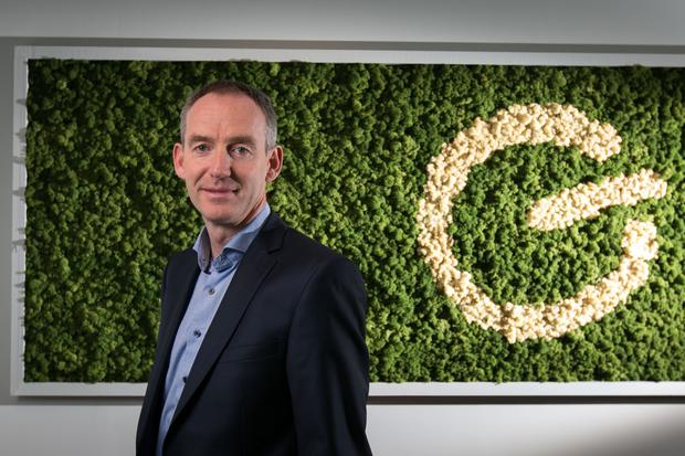 Going green: Pinergy CEO Enda Gunnell is aiming for a net profit in 2020. Photo: Shane O'Neill, SON Photographic