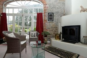The lounge in Caherass Court