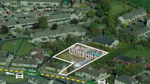 A site in Rathcoole, Co Dublin, comprises a partly finished development with planning permission for six terraced houses in two blocks