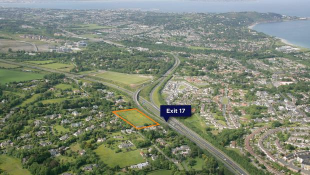 Ganly Walters is guiding €1m for this land at Ballybride Road on Dublin's southside
