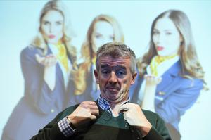 Ryanair chief executive Michael O'Leary at the airline's HQ