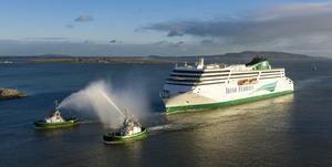 Fleet: The W.B. Yeats luxury cruise ferry entered service in January 2019