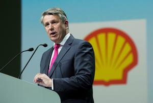 Acting fast: Shell CEO Ben van Beurden will oversee a reduction in 2020 spending