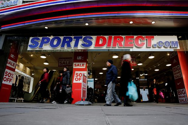 Outlet: Sports Direct expects underlying earnings to grow by up to 15pc