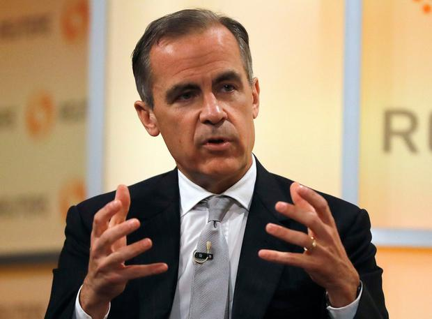 Bank of England governor Mark Carney Picture: PA
