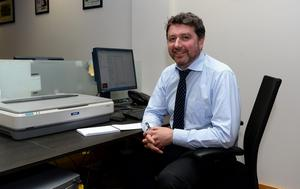 Kevin Hughes, editor of The Kerryman and The Corkman newspapers.