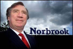 Dr. Edward Haughey, Chief Executive Officer and chairman of Norbrook Laborities in Newry Co. Down.