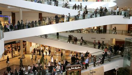 Dundrum Town Centre is Ireland's largest mall
