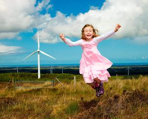 Airtricity's Dunneill wind warm near Dromore West in Co Sligo
