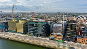 SBCI headquarters at Treasury Dock on North Wall Quay in Dublin