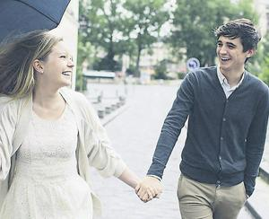 Donal Skehan with his fiancee Sofie Larrson (photo: Rhianne Jones)