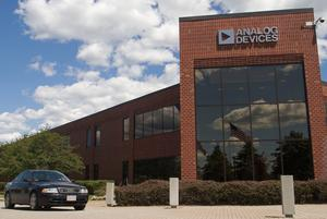 Caught in crossfire: Analog Devices' headquarters in Norwood, Massachusetts