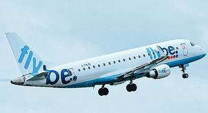 Grounded: The collapse of Flybe has impacted upon Stobart Air's business