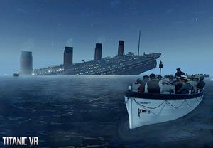 Immersive: VR Education's virtual reality simulation of the sinking of the Titanic is a learning tool