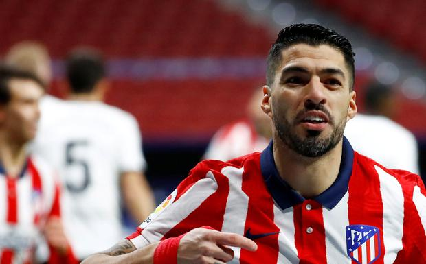 Luis Suarez has been in fine form for Atletico Madrid