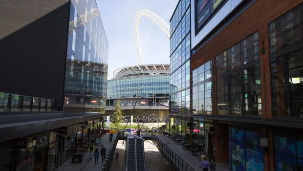 The Wembley smart city area of north London. Photo: Bloomberg