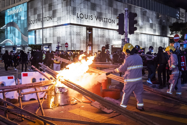Louis Vuitton has eight stores in Hong Kong, where protests have hit sales. Photo: Bloomberg