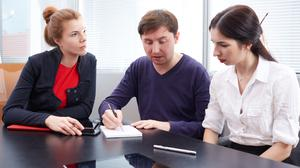 Assistance: Banks and other agencies can help you figure out your post-Covid finances. Stock image