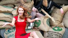 Former Miss Ireland, Aoife Walsh and Dana Donnelly lead vocalist with band 'I'm Your Vinyl