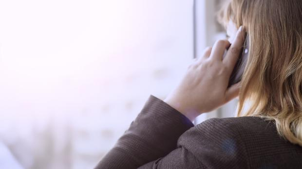 It's a lot harder to ignore someone who is on the phone with you or sitting across the desk or the table (stock photo)