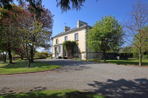 Grangebeg House, located close to Naas and Kilcullen, is described as being in 'turn-key' condition