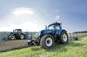 Top Spec: WR Shaw Ltd's hire fleet includes a 155hp rated T7.200 New Holland that is available for hire for €615 per week