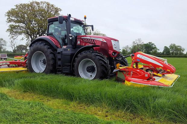 The 310hp X8.680 VT-Drive is the most powerful tractor to date from McCormick